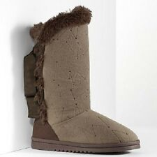 Simply Vera Vera Wang Faux-Fur Boot Slippers