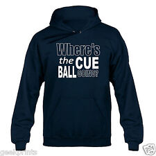 Snooker Cue Ball John Virgo Inspired Hoody Hoodie