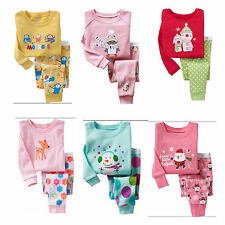 Christmas Santa Baby Children Kids Girl Boy Pajamas Sleepwear Nightwear Gift Set