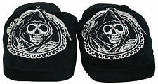 Sons of Anarchy Grim Reaper TV Show Womens Plush Slippers