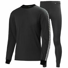 Helly Hansen Dry 2-Pack Mens Unisex Ski Snowboard Base Layer Top and Bottoms
