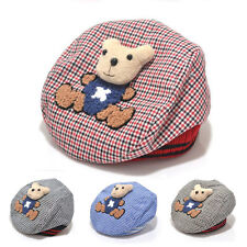 Fashion Cotton Baby Toddler Infant Boys Girls Soft Cartoon Bear Hats Caps Gifts