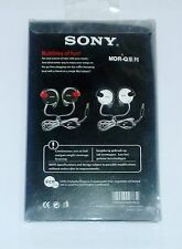 Brand New Sony MDR - Q140 Earphone Headphones High Bass With Mic Clip Hook