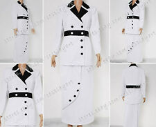 Titanic Cosplay Rose Costume White Maiden Dress Good For Daily Wear And Parties