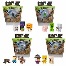 Brand New Highly Collectable Minecraft Mini Figure 3 pack - Choose your item
