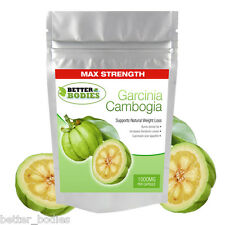 Garcinia Cambogia 1000mg Per Capsule 60% HCA Weight Loss Diet Slimming Pills