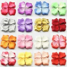 144pcs Various Multi Colors Silk Flower Rose Petals Wedding Party Decorations