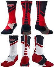Nike Hyper Elite USA World Tour Crew Basketball Socks Cushioned Dri-Fit Limited