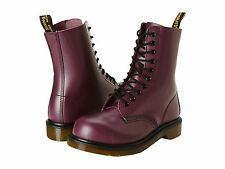 Dr. Martens  Women's 1919 Purple Smooth Boots US 5 6 10 NEW
