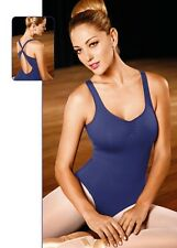NEW!! WOMENS DANCE BALLET LEOTARD WITH INTERLACED STRAPS. 5 COLORS (D276/D277)