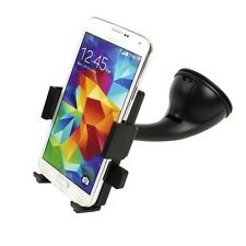 Quick Release Rotating Suction Cup Car Windshield Mount Cell Phone Holder Stand