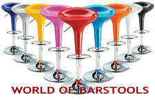 BOMBAY BREAKFAST BAR STOOLS AVAILABLE IN 9 DIFFERENT COLOURS - LIMITED STOCK