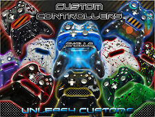 Custom Xbox One Controller Full Case Shell! Customize Your Own / Airbrushed!