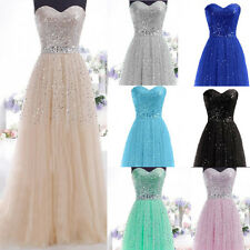 New Prom Formal Evening Balllgown Cocktail Party Dress Wedding Bridesmaid Gowns