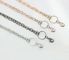 Oval Link Chain with Lobster Clasp For Origami Living Lockets - U.S. Seller