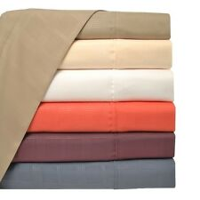 Heritage 3000 Series Microfiber Bed Bedding Sheet Set Window Pane Design
