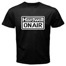 New DJ HARDWELL ON AIR Electro House Music Men's Black T-Shirt Size S to 3XL