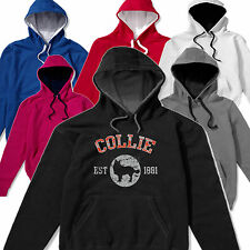 Collie Dog Cat Breed Hoody Hoodie Unisex S-3XL Slogan Pet Clothes Bed T shirt