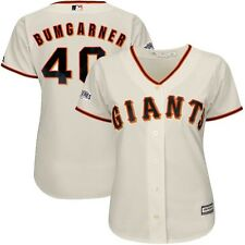 2014 Madison Bumgarner SF Giants World Series Home Cool Base Jersey Women's