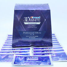 Crest3D Whitestrips LUXE Professional Effects 1 2 3 5 7 10 14 20 21 Pouches