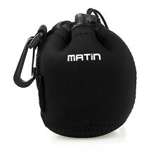 Matin Neoprene waterproof Soft Camera Lens Pouch bag Case Size- S M L XL hot