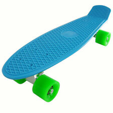 """22"""" Complete Skateboard Plastic Penny Size Cruiser Board More Wheels Options"""