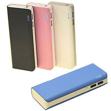 Portable External Battery Power Bank Charger For Mobile Cell Phone 13000mAh