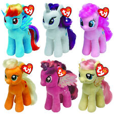 My Little Pony Ty Plush Beanie Babies Soft Plush Toy Teddy - Choose your item