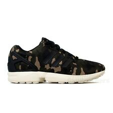 Adidas Originals ZX Flux Camo (Black/Black/Bone) Men's Shoes M21062