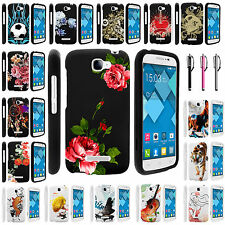 Alcatel One Touch Fierce 2 7040T Snap on Slim Image Design Rubber Case Cover