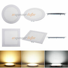 9W 12W 15W 18W 21W Bright CREE LED Recessed Ceiling Panel Down Light Bulb Lamp C