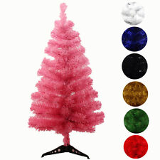 Artificial white red green Christmas Tree 2FT 3FT 7colors~