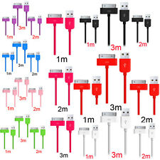 Hot Sale!1/2/3M USB DATA SYNC LEAD CHARGE CABLE For iPhone 4 4S 3GS iPod Touch 4