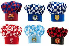 Official Football Soccer Club Team Novelty Chef Hats Christmas Gift