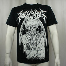 Authentic REVOCATION Band Wealth Pope King Skull T-Shirt S-XXXL NEW