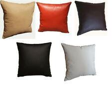 Pillow Cushion 100% Real genuine Leather 1st class sofa decorating Cushions