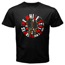 THE WHITE STRIPES Rock Alternative Rock Band Men's Black T-Shirt Size S to 3XL