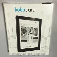 Kobo Aura eReader Wi-Fi 6in 4GB Black Pink Touchscreen From Japan New EMS F/S