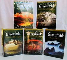 Greenfield Black Tea Collection 100g