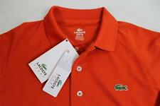 LACOSTE SPORT GOLF ORANGE / YELLOW MENS POLO SHIRT SIZE SMALL OR XL $92 NEW