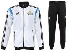 New Adidas Argentina 2014 World Cup PES Suit Jacket Pants Soccer Football S M L