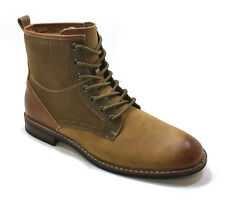 FERRO ALDO Combat Boots Inspired Dress Boots MFA 808562 Brown 367 Men