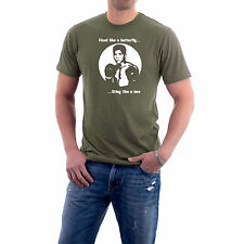 Muhammad Ali T-shirt Cassius Clay, Float like a Butterfly. Generic Logo Company