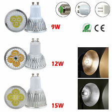 Dimmable 9W 12W 15W GU10 E27 MR16 LED Spot Light Bulbs Downlight Energie Healthy