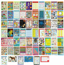 High Quality Chart Media Wall Poster / Educational / Fun / Many Kinds / School