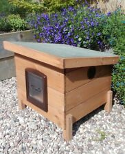 Large Cat Box Shelter,Outdoor Cat Kennel, Cat House