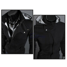 New Top Stylish Men's Slim Designed Hooded Cardigan Coat Jacket Korean Warm Fit