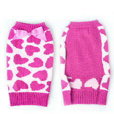 Knitted crochet dog sweater clothing for pets Winter pet clothes Coat Sweatshirt