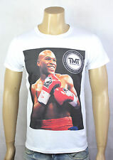 floyd Mayweather White T-shirt TMT money pretty boy TBE p4p boxing champion