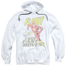 DC Comics The Flash Classic I Got Fast Moves! Adult Pull-Over Hoodie